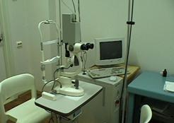 Установка для лазерной коррекции нарушений зрения у детей